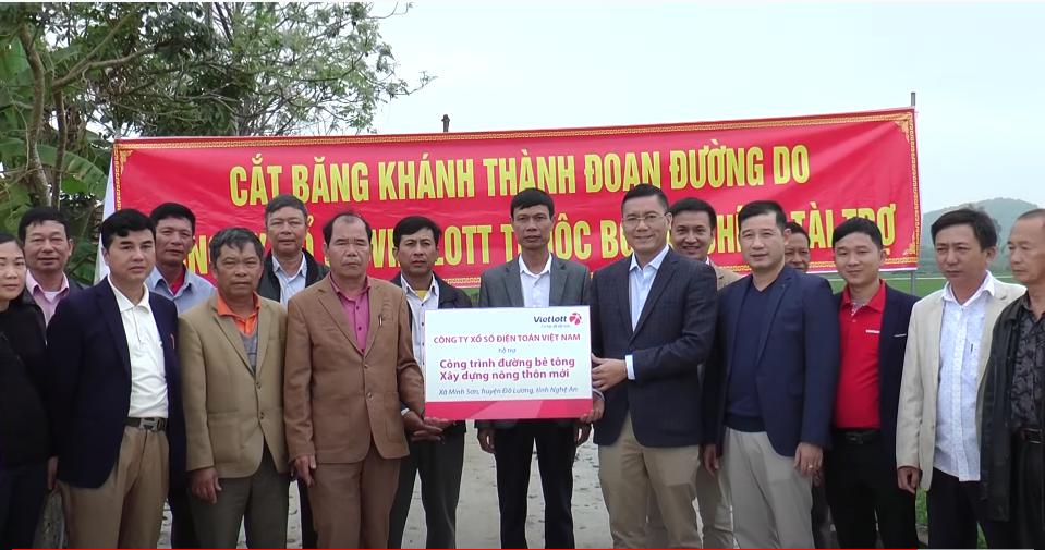 Công trình đường bê tông – Xây dựng nông thôn mới tại Đô Lương – Nghệ An
