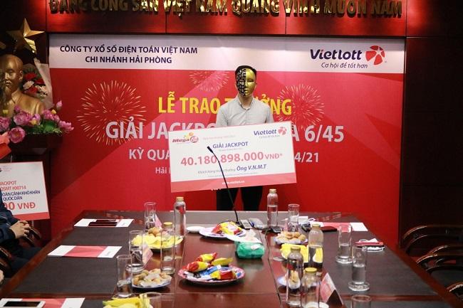 Vietlott trao Jackpot hơn 40 tỷ đồng cho người chơi tại Hà Nội