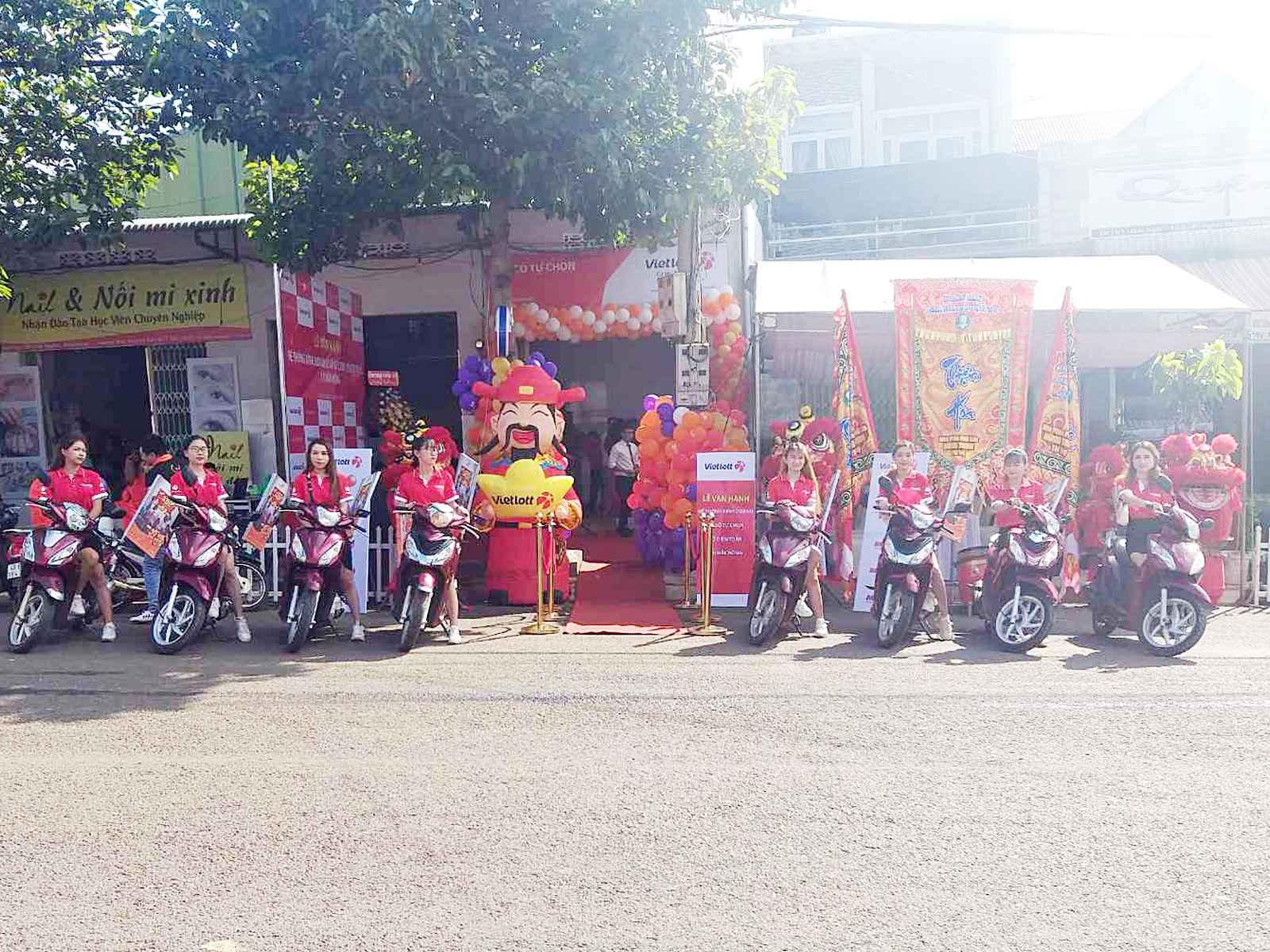 Vietlott triển khai kinh doanh tại Đăk Nông