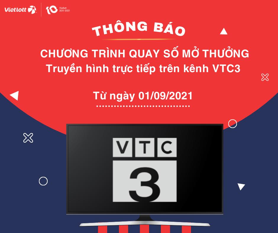 Thông báo về việc chuyển chương trình QSMT sang kênh VTC3