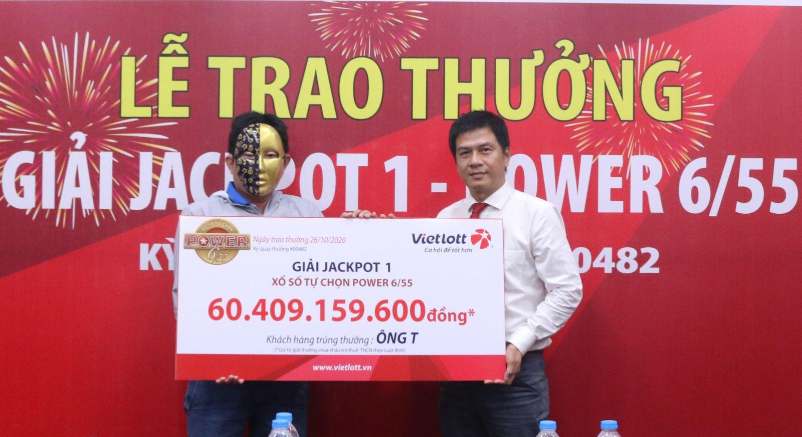 Vietlott trao Jackpot gần 60 tỷ cho người chơi tại Vĩnh Long