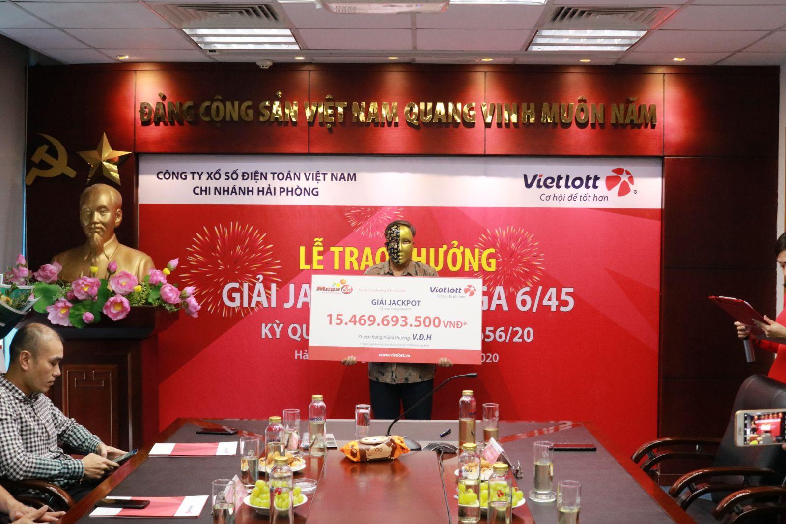 Vietlott trao Jackpot hơn 15 tỷ đồng cho người chơi tại Phú Thọ