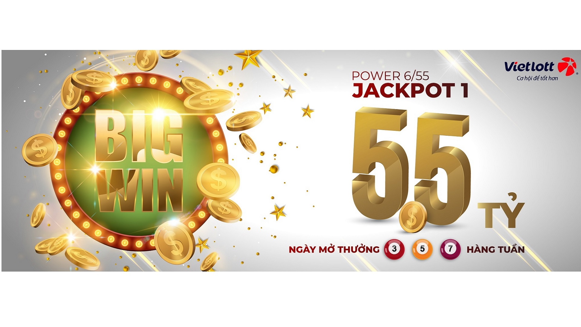 JACKPOT Power 6/55 tiếp tục vượt 50 TỶ!!!