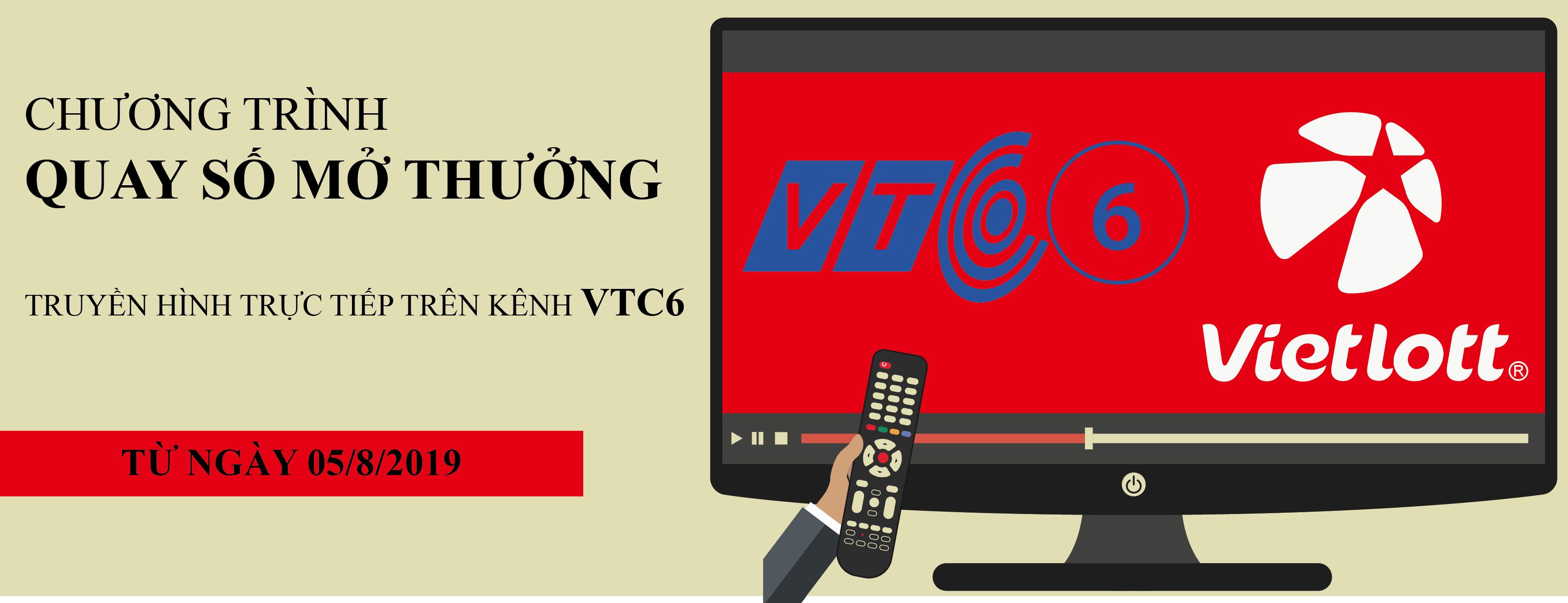 Chuyển Chương trình QSMT Vietlott sang VTC6
