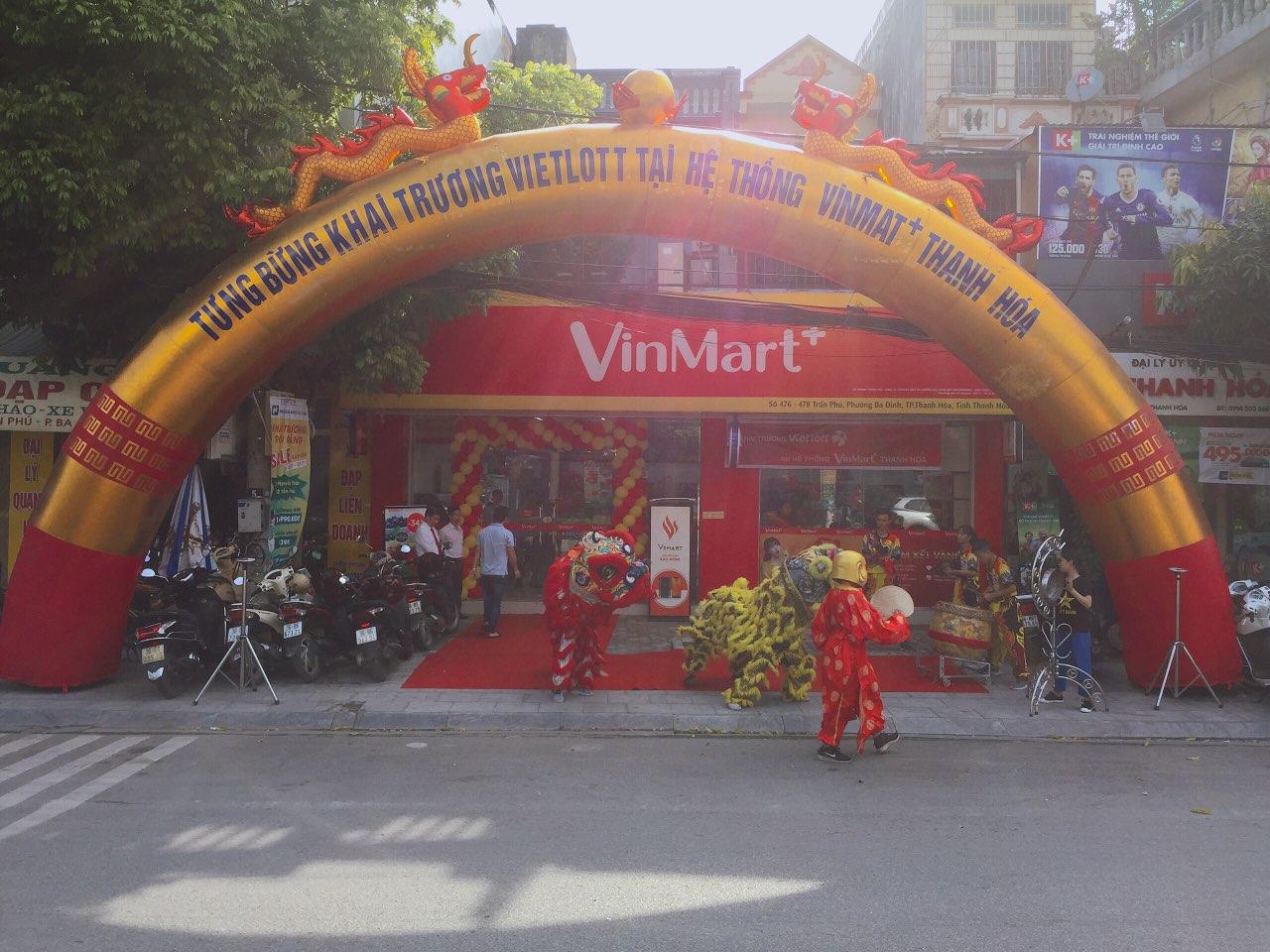 Vietlott triển khai bán vé xổ số hệ thống Vinmart+ Thanh Hóa